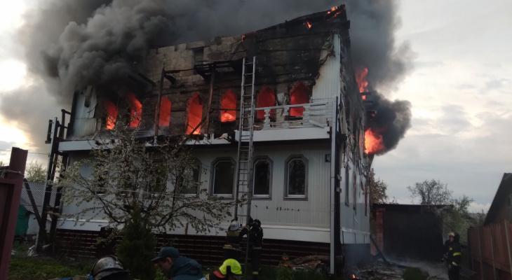 Во Владимирской области в частном доме сгорел мужчина