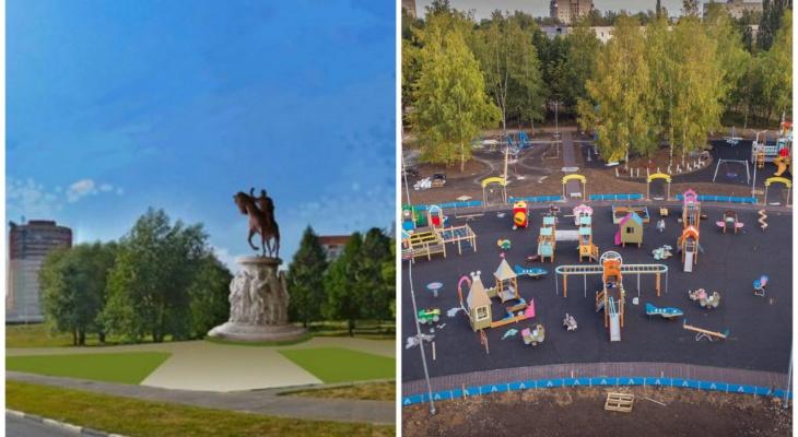 """Где будет памятник Боголюбскому и каким станет парк """"Добросельский""""?"""