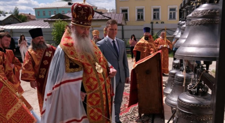 Уже скоро в центре Владимира откроется храм в честь благоверных князей Владимирских