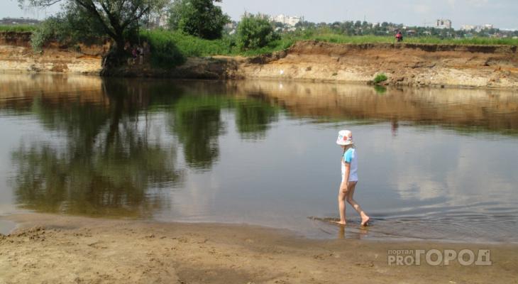 МЧС озвучили список мест массового отдыха людей на воде в регионе