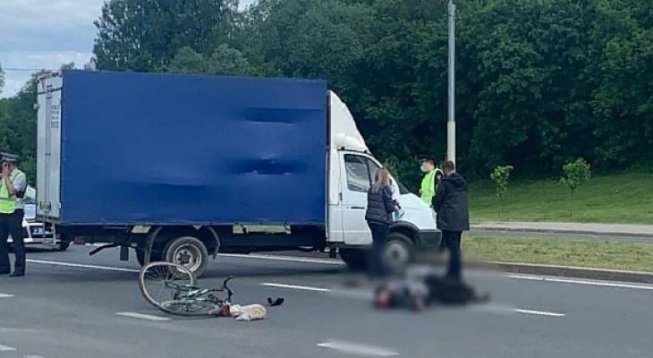 Страшное ДТП во Владимире: в столкновении с грузовиком погиб велосипедист