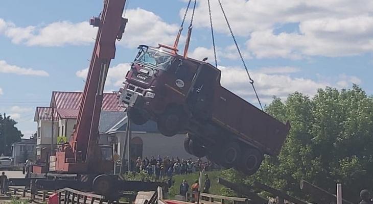 Мост в Иваново будет восстанавливать за свой счет владелец владимирской фуры