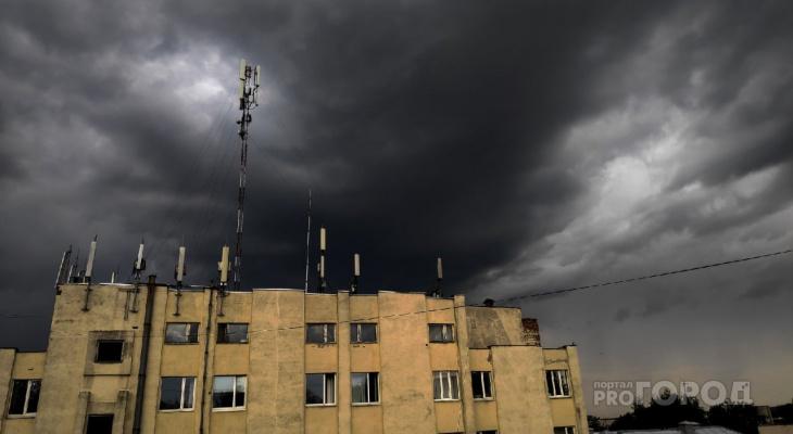 Во Владимире ожидается гроза, град и штормовой ветер