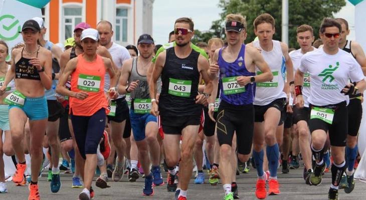На Зелёный Марафон во Владимире вышли 2000 бегунов