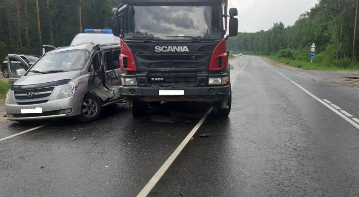В аварии под Владимиром серьёзно пострадала 12-летняя девочка