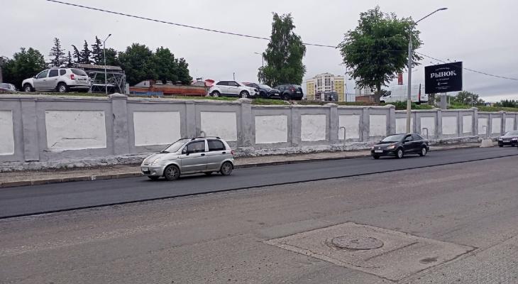 Устранят ли перепады между старым и новым асфальтом на Дзержинке?
