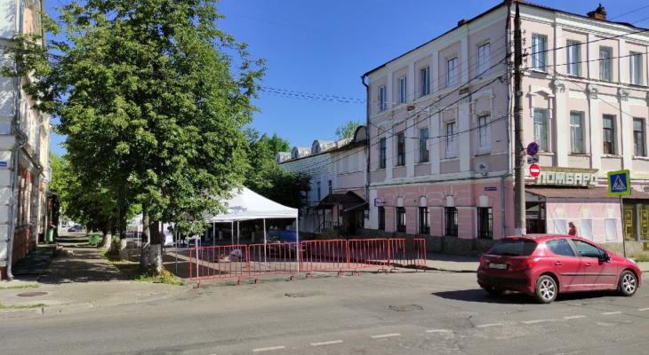 С сегодняшнего дня и на все выходные во Владимире перекроют улицу в Центре