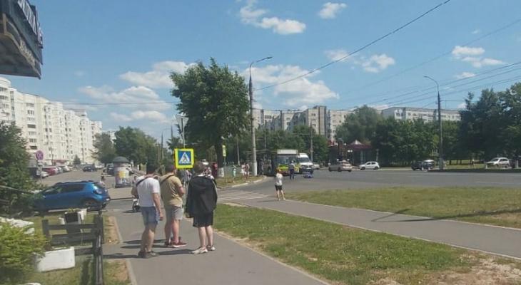Пешеход, которого сбил автобус во Владимире - скончался