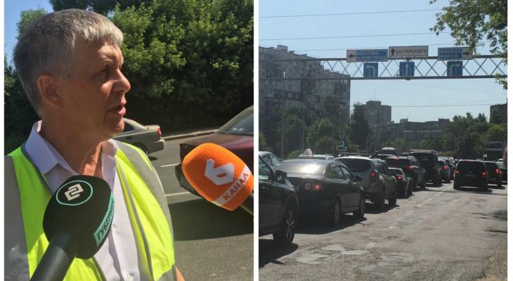 Проблемы М7 во Владимире: пробки, неисправная ливнёвка, неработающий лифт