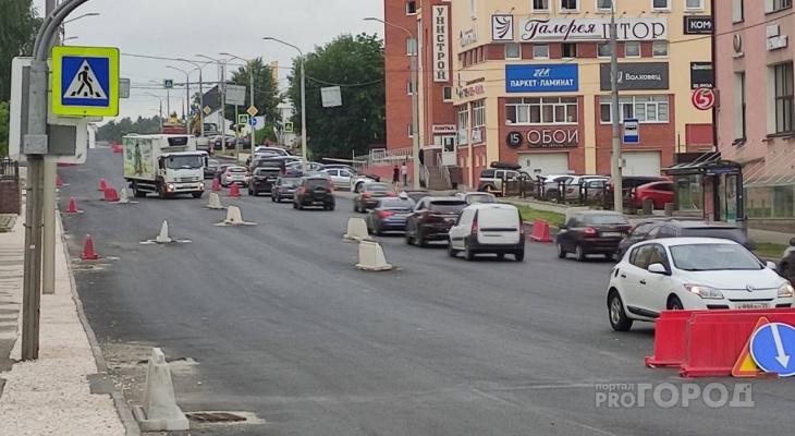 Названы сроки окончания ремонта дороги на Дзержинке