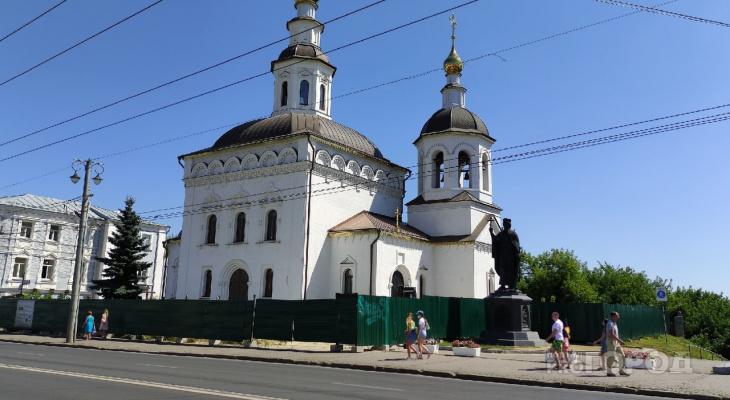 Открытие нового храма в центре Владимира перенесли из-за коронавируса