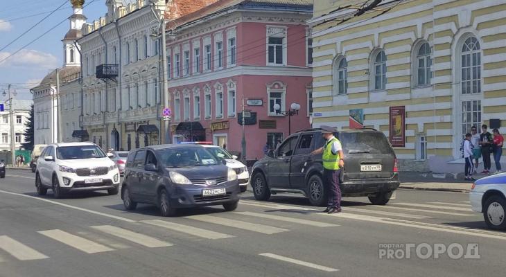 В МВД прокомментировали ДТП на переход у центра ИЗО