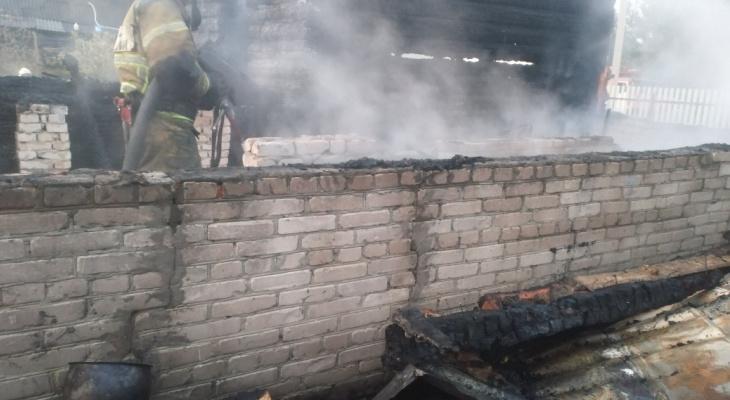 На пожаре в Гусь-Хрустальном погибли два человека