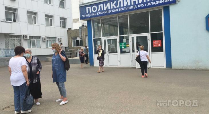 Суточный прирост во Владимирской области COVID-19 снова выше 200