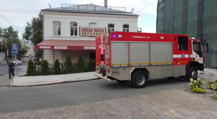 Во Владимире горел популярный у горожан ресторан
