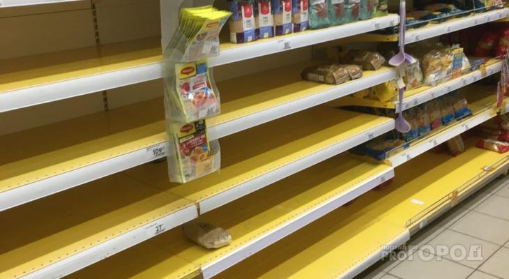 В России из-за мусорной реформы в магазинах опустеют полки