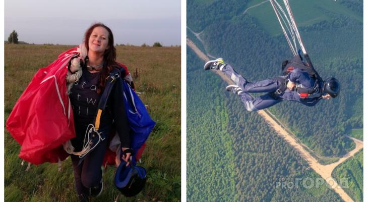 Многодетная парашютистка: мой сын уже в 9 лет прыгнул с парашютом