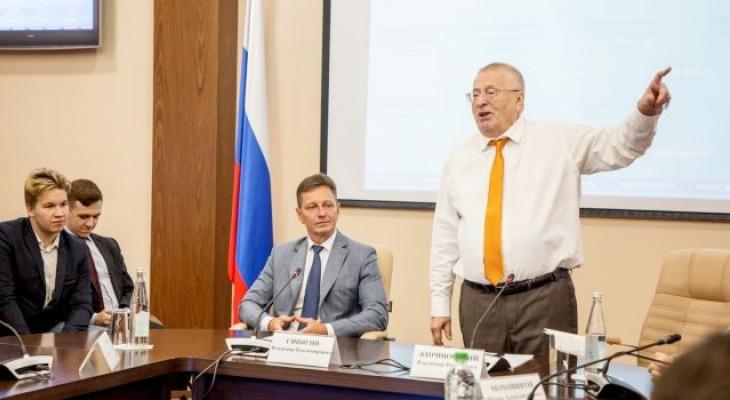 Сегодня во Владимир приедет Жириновский