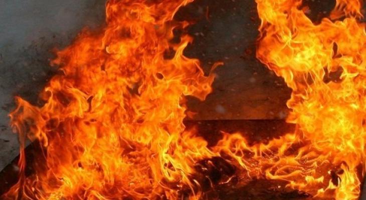 Во Владимире в куче мусора сгорел мужчина