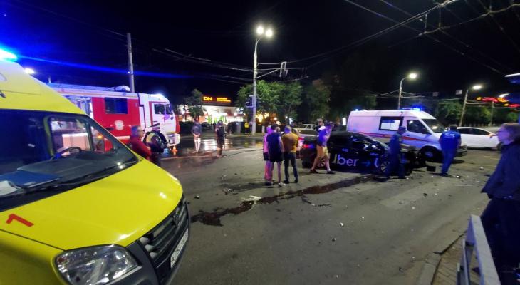 Ночью в ДТП во Владимире пострадали 4 человека