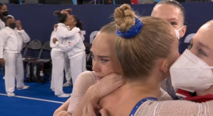 Выступающая за Владимир гимнастка Ангелина Мельникова стала олимпийской чемпионкой