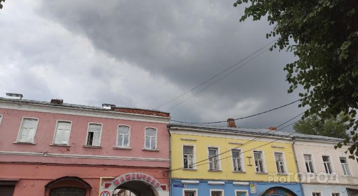 Во Владимире испортилась погода. Когда снова покажется солнце?