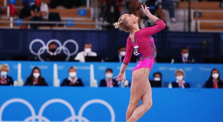 Гимнастка Ангелина Мельникова принесла сборной России бронзовую медаль
