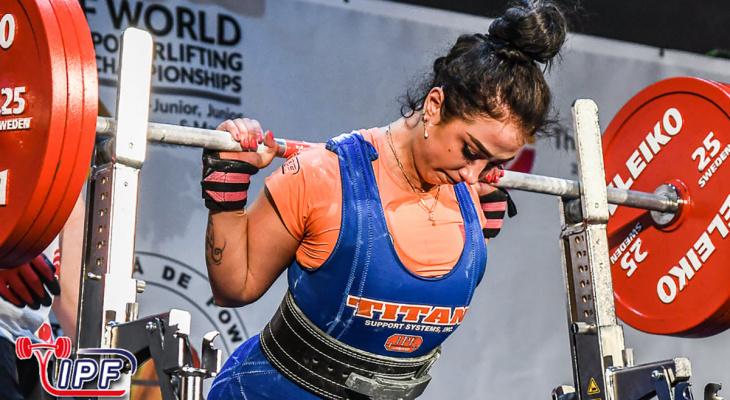 Девушка из Владимира стала чемпионкой Мирового первенства по пауэрлифтингу