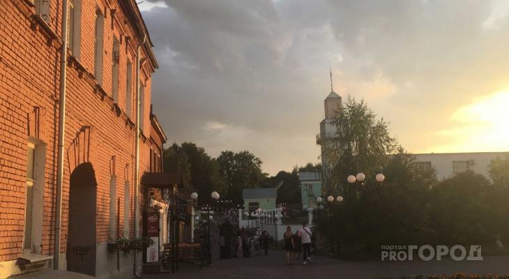 В день города погода порадует владимирцев солнцем и отсутствием дождя