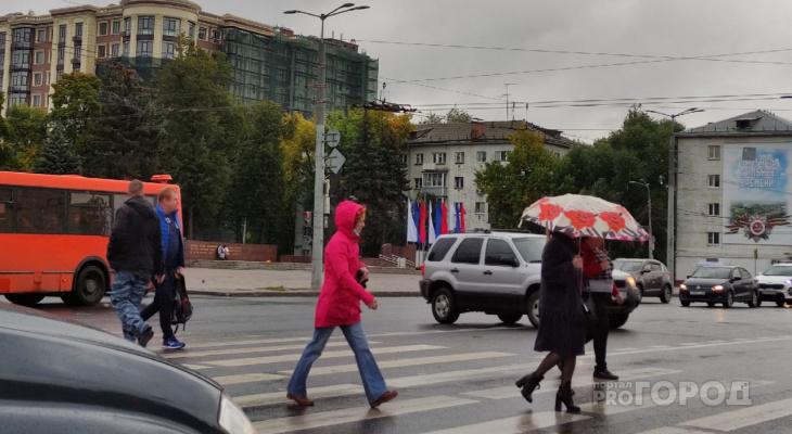 Резкое похолодание придет во вторник во Владимир