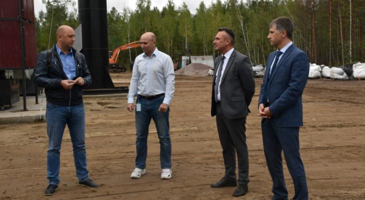 В Гусь-Хрустальном районе открылся завод по производству минеральных удобрений